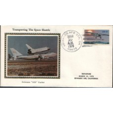 1978 US Space Shuttle 3 Transport silk cover