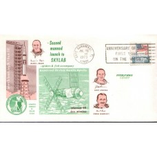 1973 UNITED STATES of AMERICA 2nd Skynet Launch Cover