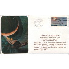 1977 UNITED STATES of AMERICA Voyager I cover