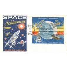 1981 UNITED STATES of AMERICA Space Achievments FDC