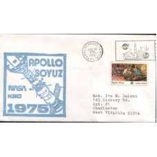 1975 UNITED STATES of AMERICA Apollo -Soyuz A Cover