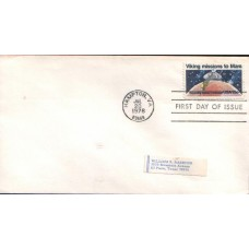 1975 UNITED STATES of AMERICA Apollo -Soyuz B FDC