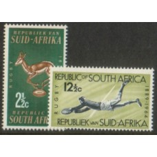 1964 SOUTH AFRICA Rugby Board set MNH