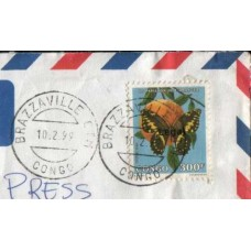 1999 CONGO- Braz. Commercial forwarded Cover
