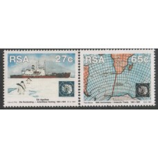 1991 SOUTH AFRICA 30Y Antarctica Treaty MNH