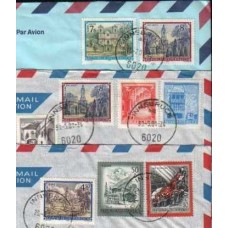 2001 AUSTRIA 3 Commercial usage Covers Nr2