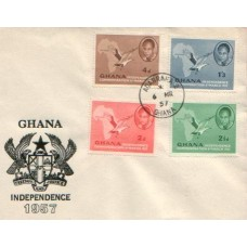 1957 GHANA Independence FDC
