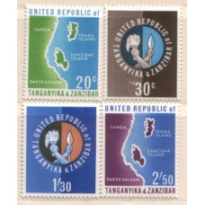 1964 TANZANIA Independence set LMM