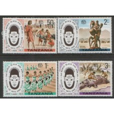 1977 TANZANIA Art and Culture set MNH