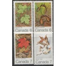 1971 CANADA Four Seasons set MNH