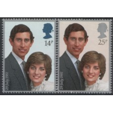 1981 GREAT BRITAIN  Royal Wedding M