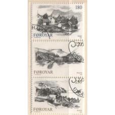 1982 DENMARK - Faroe Is. Villages set VFU