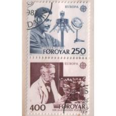 1983 DENMARK - Faroe Is. Europa - CEPT set VFU