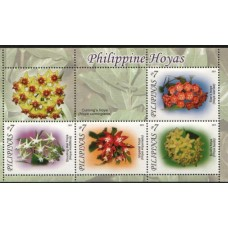 2011 PHILIPPINES Floral miniature sheet MNH