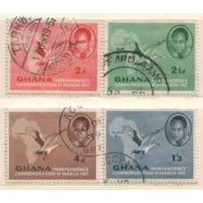 1957 GHANA Independence set VFU