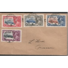 1935 BASUTOLAND KGV Silver Jubilee FDC.