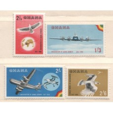 1958 GHANA Ghana Airways set Mint