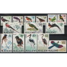 1968 MALAWI Beautiful BIRD Def. set MNH.