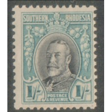 1931 SOUTHERN RHODESIA KGV 1s perf 11.5 LMM.