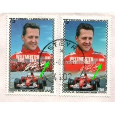 2007 AUSTRIA M. Schumacher V1 Legend Cover