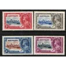 1935 BASUTOLAND KGV Silver Jubilee set cv£11.50 LMM
