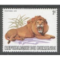 1982 BURUNDI Animal set to 75Fr MNH