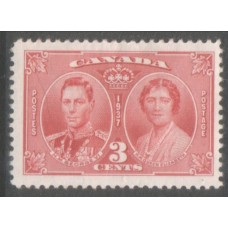 1937 CANADA Coronation set VF LMM