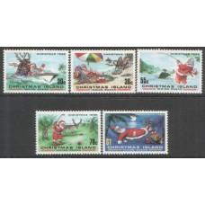 1986 CHRISTMAS Is. Father Christmas set MNH