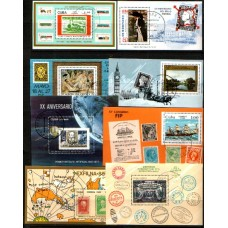CUBA: 8 Topical miniature sheet cv£24.75 VFU