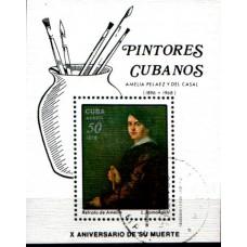 1978 CUBA  Painters  Amelia - L Romanach - Art MS VFU