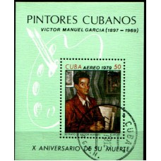 1979 CUBA Painter - Victor Manual Garcia MS VFU.