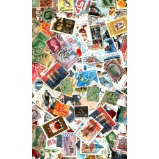 100 Gram WORLDWIDE stamps for Decoupage purposes MINT & USEd