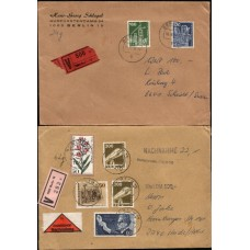 GERMANY-BERLIN: 2 Express/Insured covers neatly opened VF