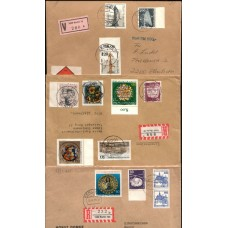 GERMANY-BERLIN: 3 Registered covers neatly opened VF