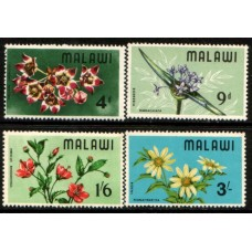 1968 MALAWI Flora set MNH