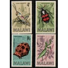 1970 MALAWI Insect set MNH
