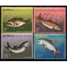 1974 MALAWI Fish set MNH.