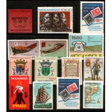 MOZAMBIQUE:  14 Different values all MNH