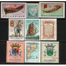 MOZAMBIQUE:  9 Different values cv£9.65 all MNH