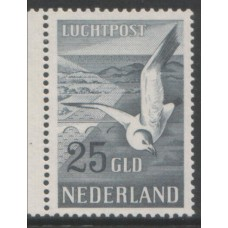 1951 Netherlands 25 Gulden Seagull superb MNH