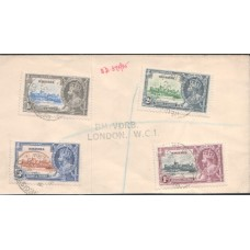 1935 NIGERIA KGV Silver Jubilee Cover