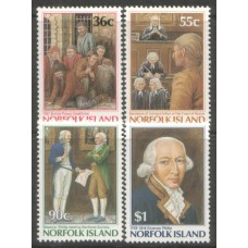1986 NORFOLK IS. Bicentenary of Island MNH