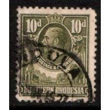 1925 NORTHERN RHODESIA KGV 10d value cv£50.00 VFU