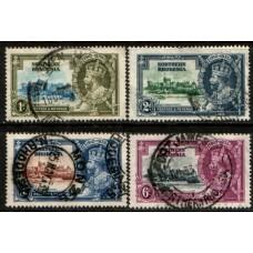 1935 NORTHERN RHODESIA KGVI Silver Jubilee set cv£16.00 VFU