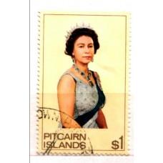 1975 PITCAIRN Is. QE II $1 issue cv£17.00 VFU