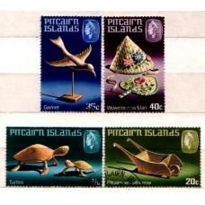1980 PITCAIRN Is. Handicrafts set VFU