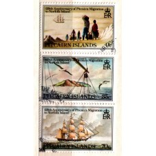 1981 PITCAIRN Is. Migration to Norfolk Island set VFU