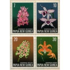 1974 PAPUA NEW GUINEA Flora Conservation MNH