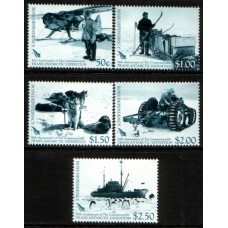 2007 ROSS DEPENDENCY 50th Anniv. Trans-Antarctic Expedition set MNH