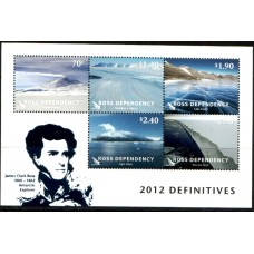 2012 ROSS DEPENDENCY Landscapes miniature sheet MNH